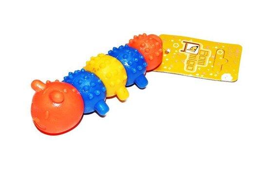 Brinquedo Cães Mordedor Borracha Centopéia G
