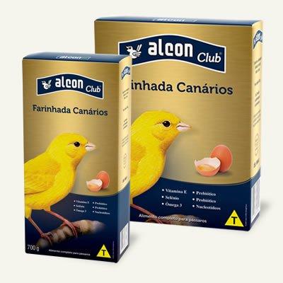 Alcon Club Farinhada Alimento Canários 200 g