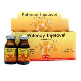 Potenay Injetável 10 ml Complexo Vitamínico 10 unidades