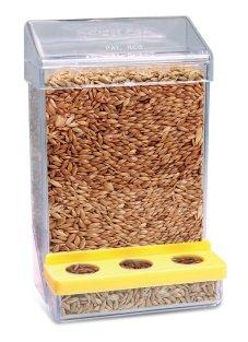 Comedouro Pássaros Alimentador Contínuo Automático Plast Pet