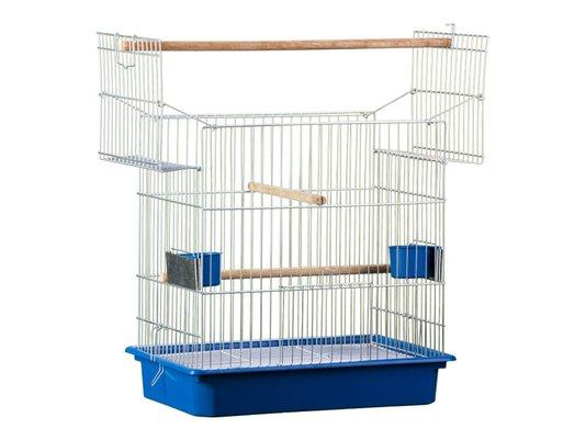 Gaiola Pássaros Calopsita Italiana Duplex Zincada -137 Londrina