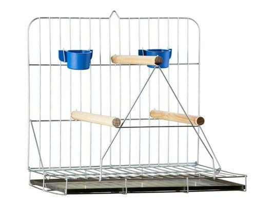 Poleiro Brinquedo Playground Papagaio CalopsitaDobrável 12A