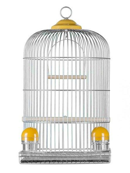 Gaiola Pássaro Redonda Periquito Canário Londrina