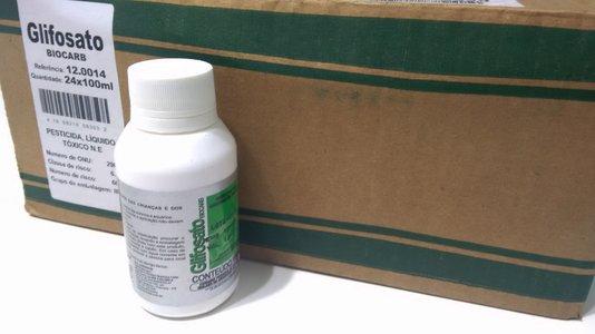 Glifosato Biocarb Herbicida - Caixa com 24 x 100 ml