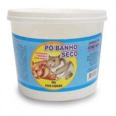 Pó Banho Seco para Hamster e Chinchilas - Pote de 1 kg