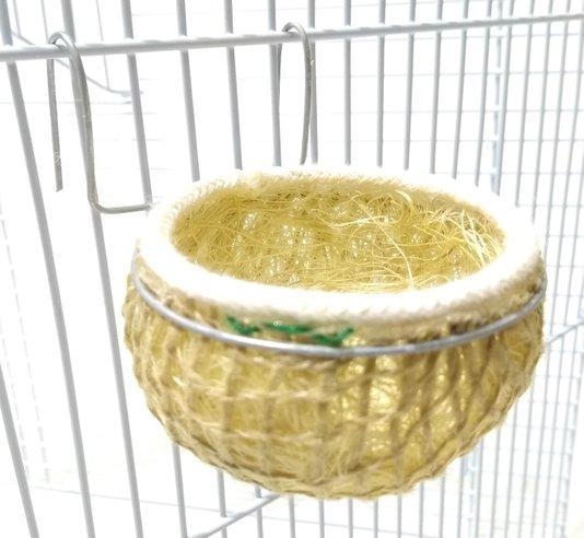 Ninho Sisal para Coleiro