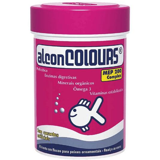 Alcon Colours 10 g - Ração Floculada Realça Coloração Peixes