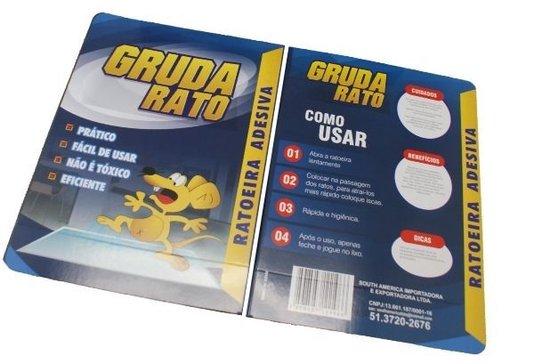 Ratoeira Adesiva Cola/Pega Rato - 1 un