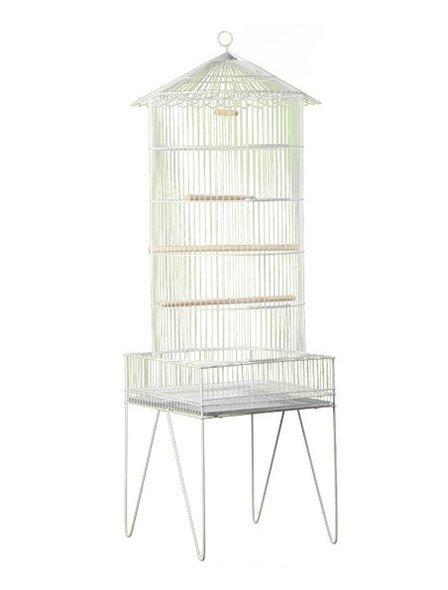 Viveiro Chinês Pequeno Epoxi Pássaros Periquito Agapornis Calopsita Londrina 35A