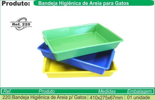 Bandeja Higiênica Plástica Gatos P - Ref. 220