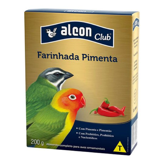 Alcon Club Farinhada Pimenta 200g Aves Ornamentais