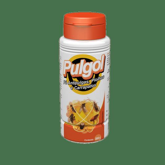 Pulgol Pó Antipulgas, Pilhos e Carrapatos - Talqueira 100 g