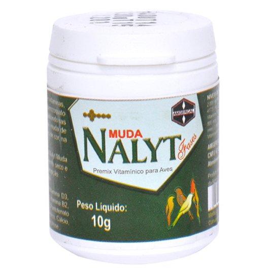 Nalyt Fases Muda Premix Vitamínico para Aves - Pote 10 gramas