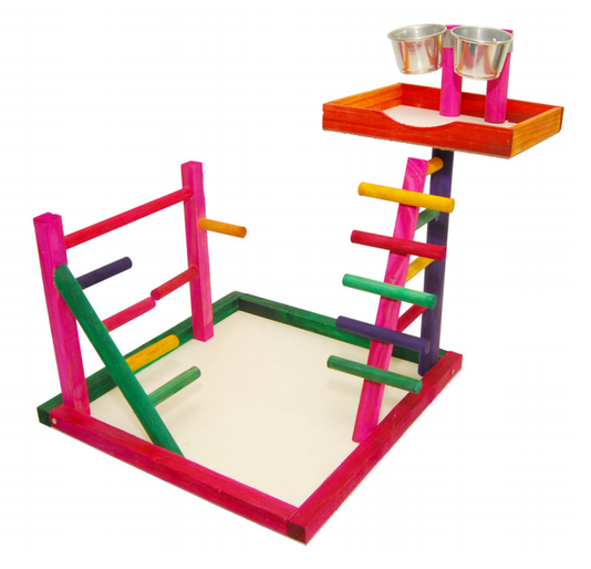 Brinquedo Playground Poleiro Calopsita Papagaio Maritaca 33
