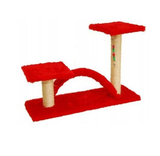 Arranhador para Gatos Trampolim c/ Arco Dody Toys - A-10