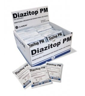 Diazitop PM Inseticida Organofosforado - Display 40 x 25 g
