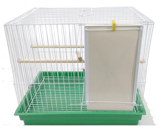 Gaiola Pássaros Calopsita Epoxi Bandeja Plástica Pet Frigo