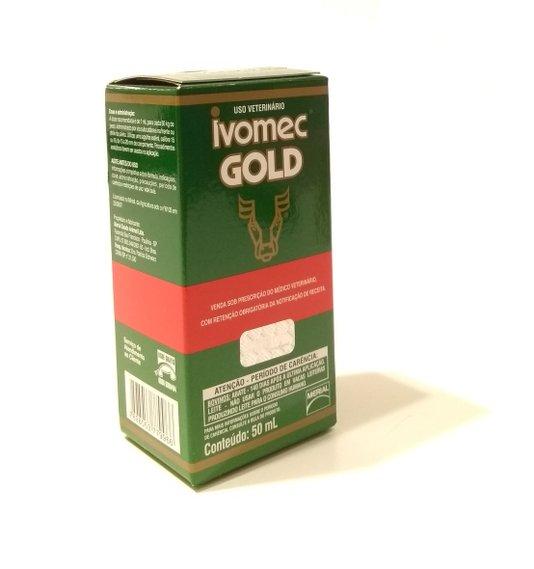 Ivomec Gold Ivermectina Antiparasitário Vermífugo 3,15%  50 ml