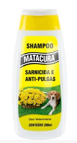 Shampoo Condicionador Matacura Gatos Antipulgas 200 ml