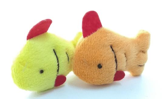 Brinquedo para Gatos Pelúcia Peixinho com 2 un C8037
