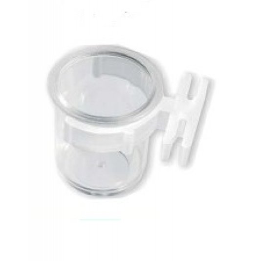 Porta Vitamina Cristal c/ Presilha P Ref. 72 - 12 unid.