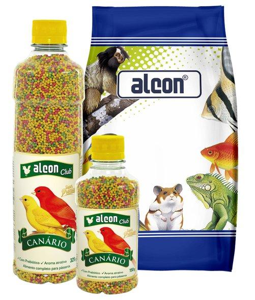 Ração Alcon Canário Extrusado 325 g Alimento Super Premium