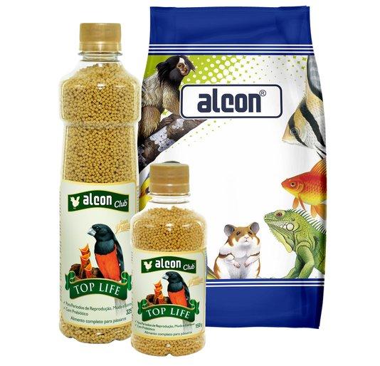 Alcon Club Top Life 325 g - Alimento Completo Pássaros