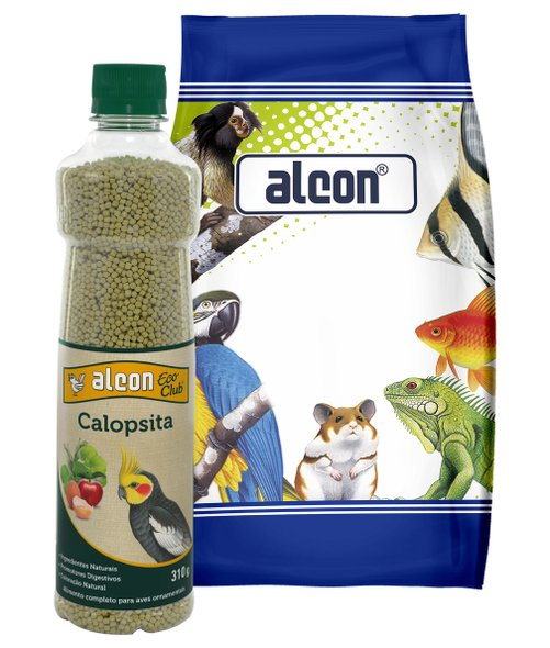 Alcon Eco Club Calopsita Extrusado 325 g Alimento Completo