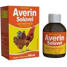 Averin Solúvel Antibiótico Coccidiose Sulfa Aves 100 ml