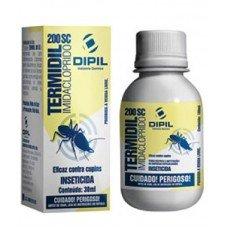 Termidil 200 SC Inseticida Pulga Cupim Imidacloprido Dipil 30 ml
