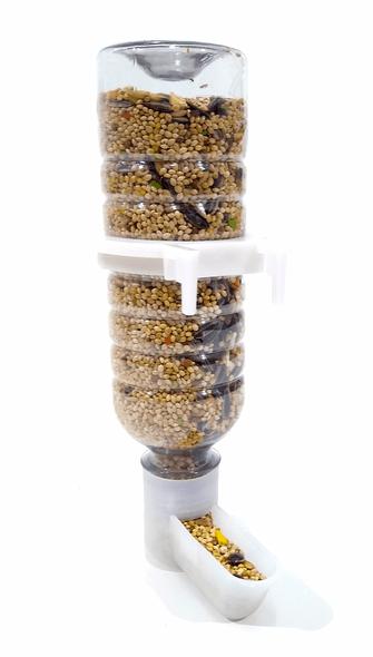 Bebedouro Comed Pássaros BICO FINO Garrafa Pet 290 ml