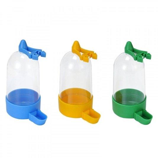 Bebedouro Plástico Pássaros Grande Sabiá Trinca Ferro 12 un