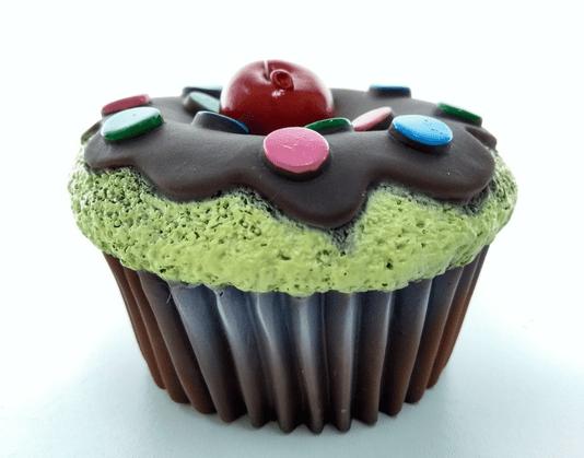 Brinquedo Cães Mordedor Apito Cup Cake Confetes