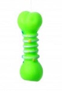 Brinquedo Cães Mordedor Apito Osso Borracha 11 cm