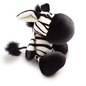Brinquedo Cães Mordedor Pelúcia Zebra com Som