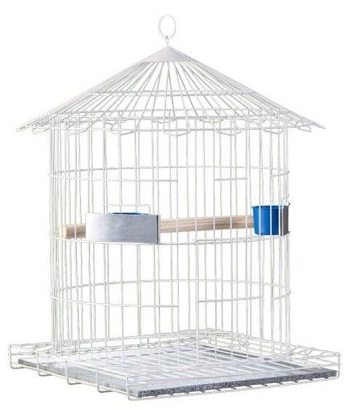 Gaiola Pássaro Redonda Luxo Papagaio Epoxi  16 Ver frete