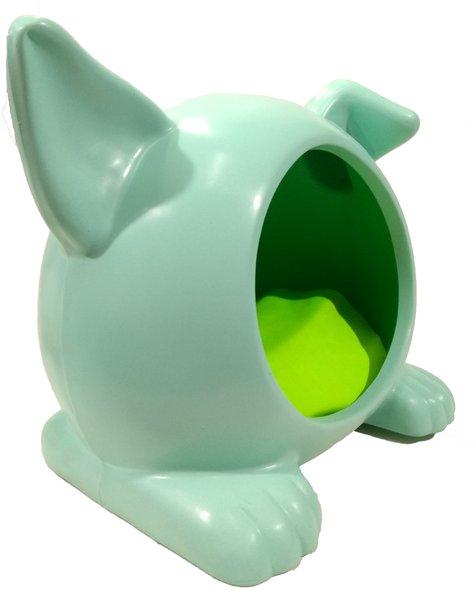 Cama Toca Casa Cães Ideal Dog Pequena Verde