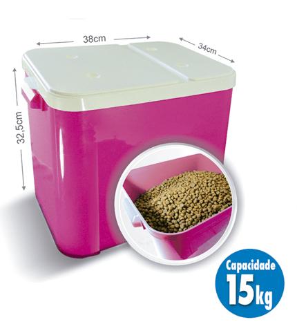 Canister Container Armazenador Porta Ração 15 kg