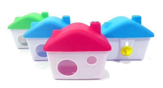 Casinha Toca House Brinquedo Casa Plástica Hamsters