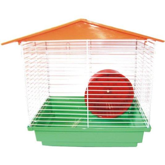 Gaiola Hamster Teto Plástico Básica Ornamental -Ref. 102