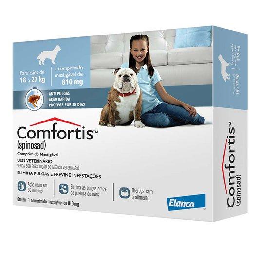 Comfortis 810 mg Elanco Comprimido Anti-Pulgas para Cães