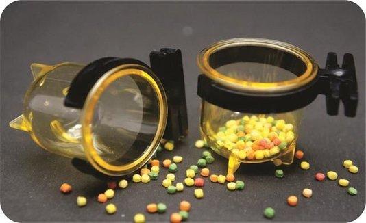 Porta Vitamina Pequeno Luxo - Cód. 55LX - 12 unidades