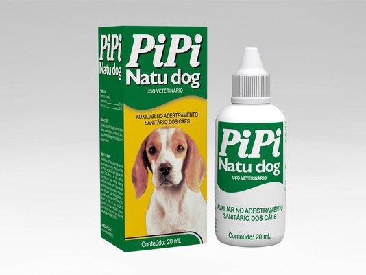 Pipi Natu Dog Auxiliar Adestramento Sanitário de Cães - 20 ml