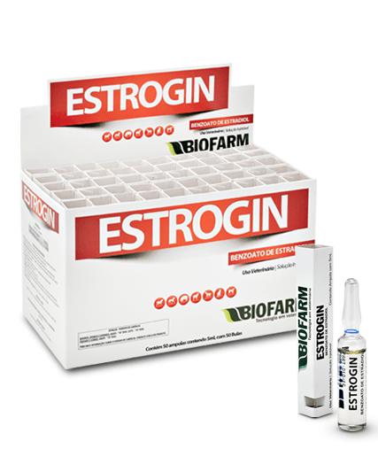 Estrogin Benzoato de Estradiol Hormônio - Ampola 5 ml