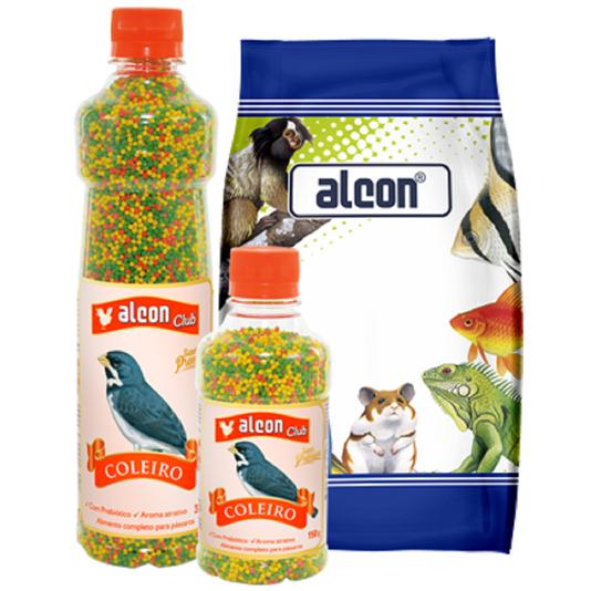 Ração Alcon Coleiro Extrusado 150 g Alimento Super Premium