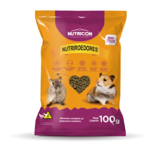 Ração Alimento Extrusado Hamster Esquilos Roedores 100 g