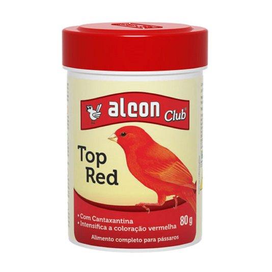 Alcon Club Top Red 80 g - Alimento Completo Intensifica Coloração Pássaros