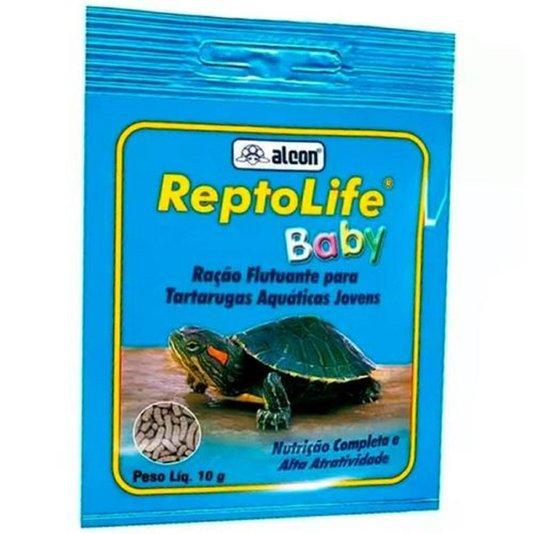 Alcon Reptolife Baby 10 gramas  Ração Filhotes Tartarugas