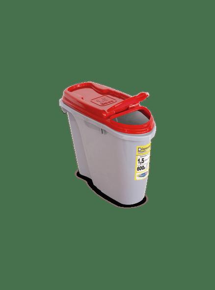 Dispenser Home Armazenador/Porta Ração 1,5 L