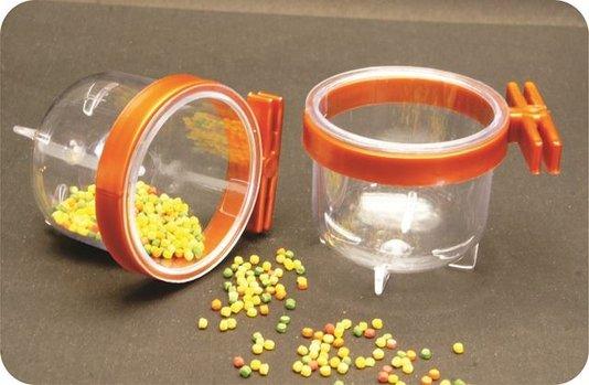 Porta Vitamina Super Trincão Cristal Presilha Cobre - 12 un.